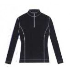 5231 - EP Pro - Tour-Tech® Poly/Spandex Jersey Long Sleeve Zip Mock Polo